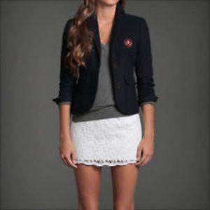 Abercrombie&Fitch wool navy blue blazer